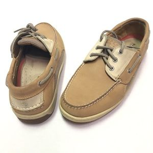 Sperry Top Sider Billfish 3 Eye Boat Shoes SZ 10